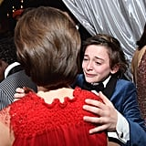 Noah Shed a Few Tears, Likely Because of Their Big SAG Awards Win