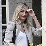 Pictures of Cameron Diaz Leaving Lunch in Miami Without Alexander Rodriguez
