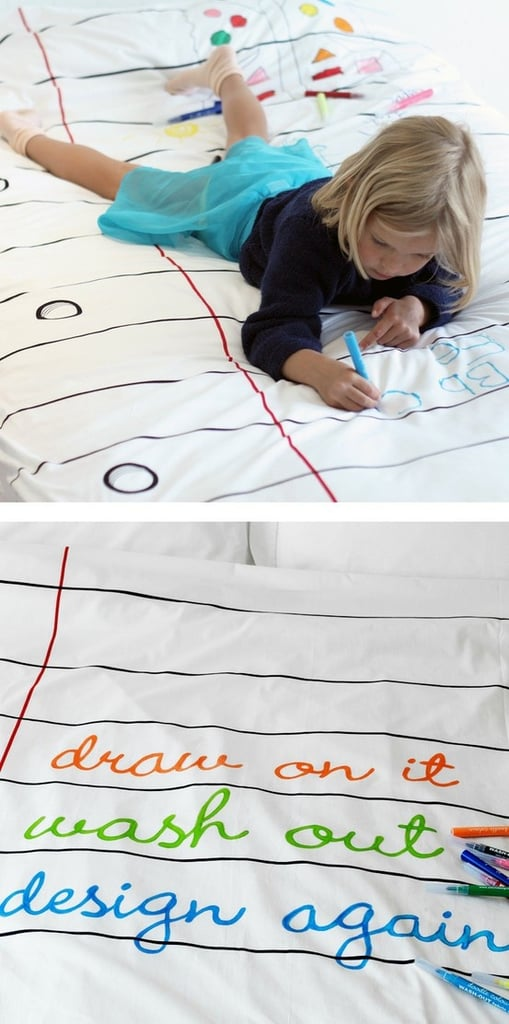 A Duvet You Can Doodle on