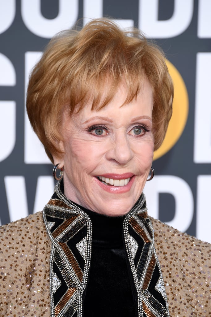 Carol Burnett at the 2019 Golden Globes
