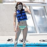 In June 2006, Eva Longoria accessorized her bikini with a life jacket in Cabo.