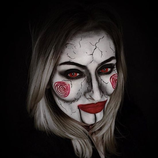 Halloween Jigsaw Makeup