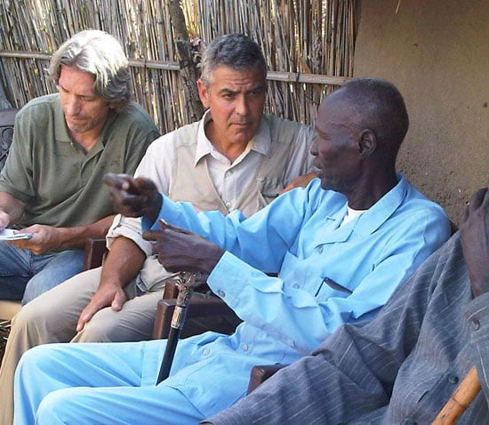George Clooney in Africa