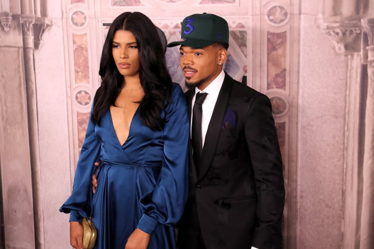 Kirsten Corley And Chance The Rapper Celebrities At