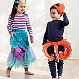Hanna Andersson Laughing Mermaid and Curious Octopus Costumes