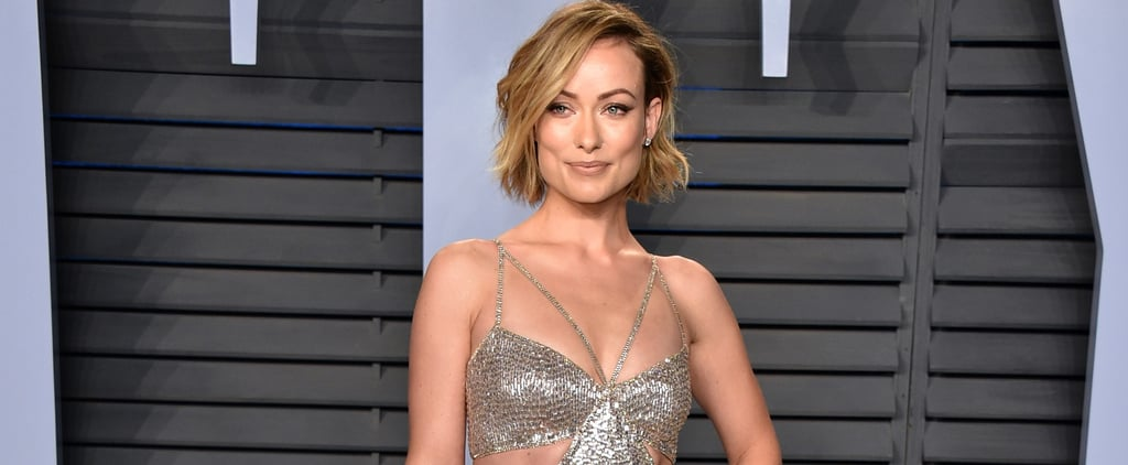 Olivia Wilde Roberto Cavalli Dress at Oscars Afterparty 2018