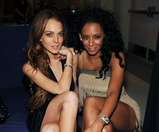 Photo of Lindsay Lohan and Mel B Partying in Las Vegas