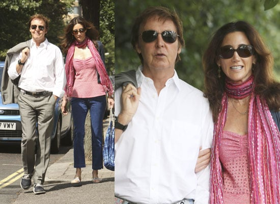 Photos Of Paul McCartney With Girlfriend Nancy Shevell In London