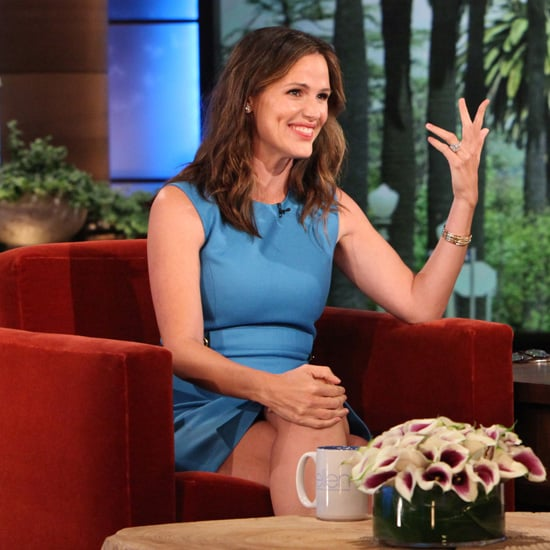 Jennifer Garner Talking About Kids on Ellen (Video)