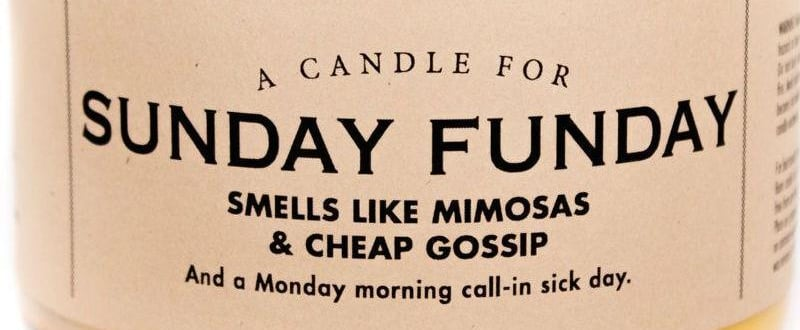 "This Sunday Funday Candle Is ""Sippy Cup Wine"" Scented"