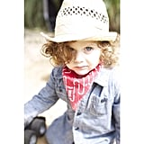 Rachel Zoe reposted a picture of her son, Skyler, in cowboy dress on the Ladys & Gents blog.  Source: Instagram user rachelzoe