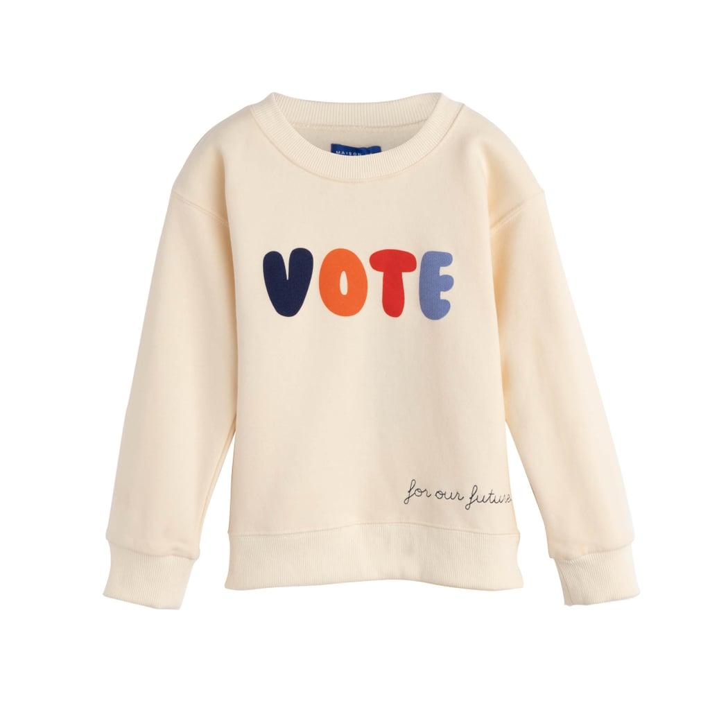Maison Me Kids Vote Sweatshirt