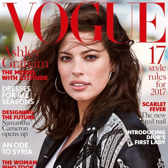 Ashley Graham British Vogue Cover January 2017