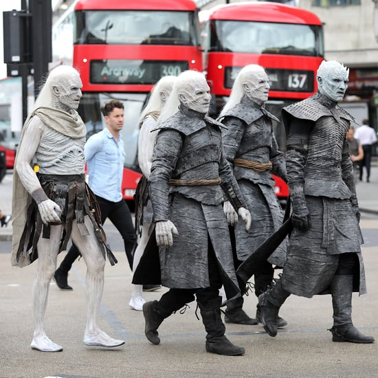 Game of Thrones White Walkers in London Photos July 2017
