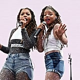 Chloe x Halle had the crowd on their feet at the festival in 2018.