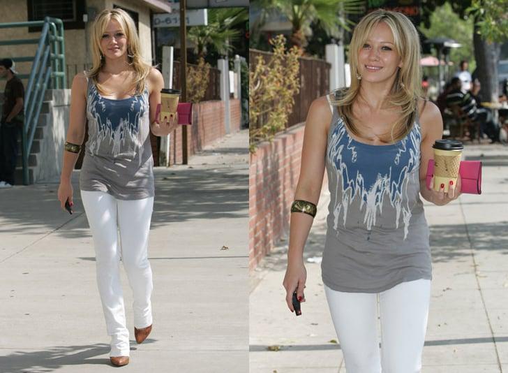 Celebrity Style Hilary Duff Popsugar Fashion