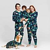 Target Holiday Dinosaur Print Pajamas