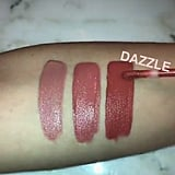 Swatch of Kylie's Velvet Lip Kit in Dazzle