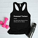 Personal Trainer Definition T-Shirt