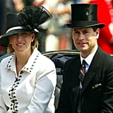 Pictured: Sophie, Countess of Wessex and Prince Edward.