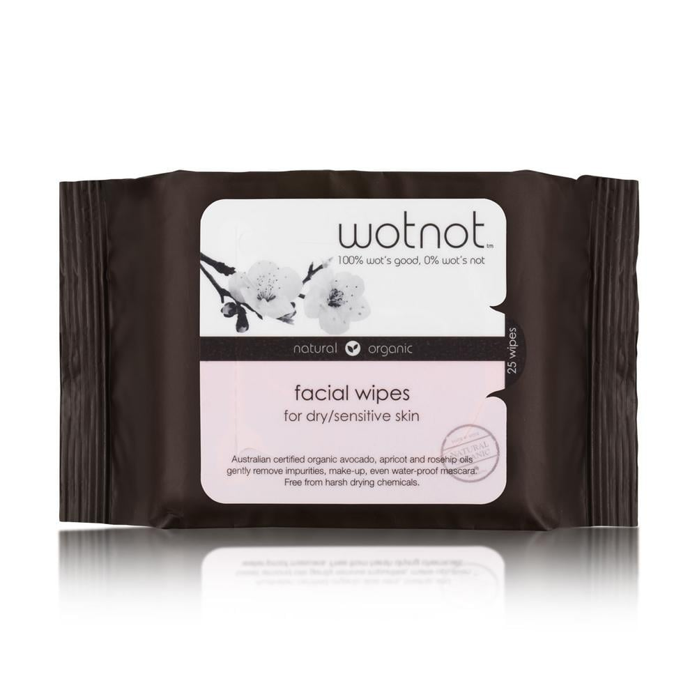 WotNot Natural Face Wipes, $8.99