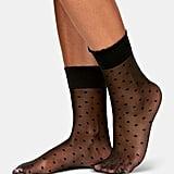 Berkshire Sheer Dots Anklet Socks      Sheer Dots Anklet Socks