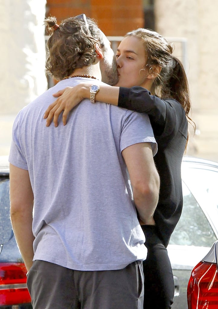 Bradley Cooper and Irina Shayk got passionate in London in May 2015.