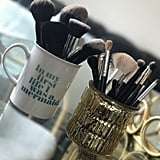 Store Brushes in an Old Mug