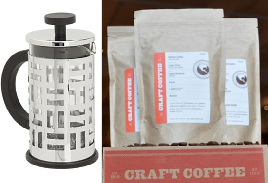 Craft Coffee Subscription and Glam French Press