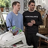 "David Rose's ""Nonchalance"" Sweater on Schitt's Creek"