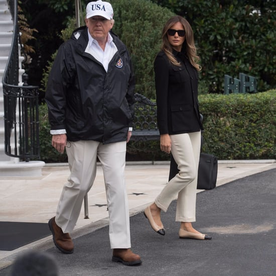 Melania Trump Wearing Chanel Flats