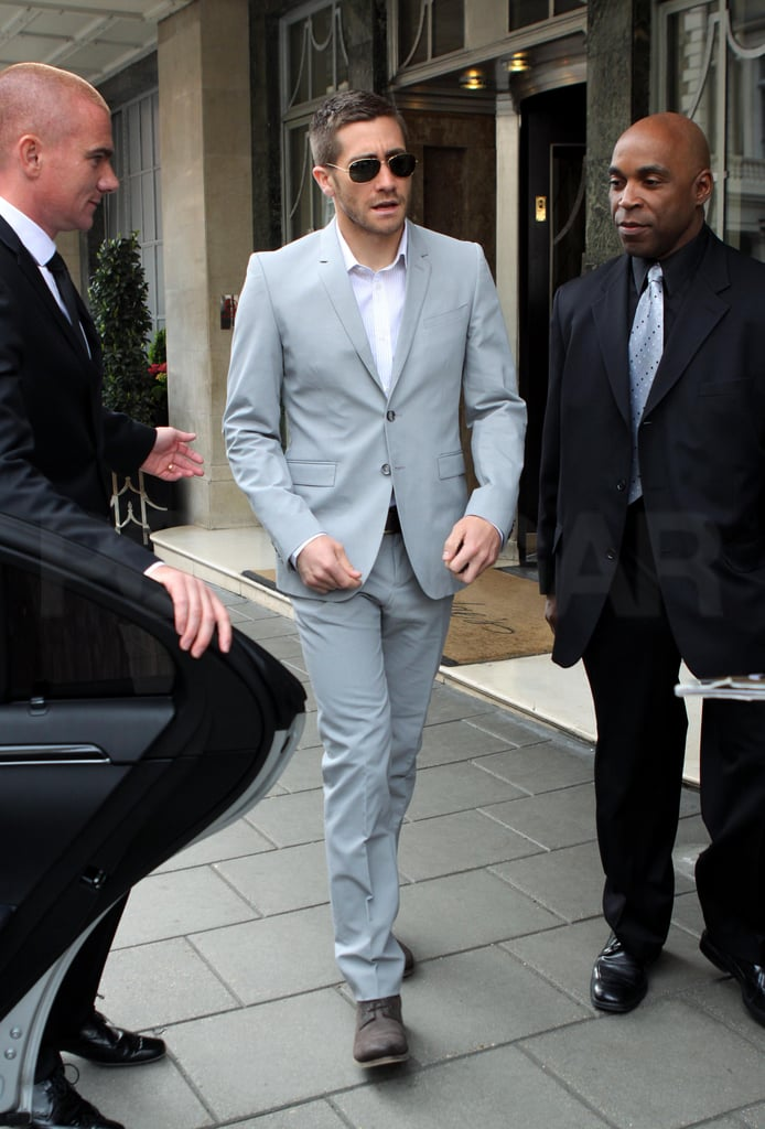 Photos of Jake Gyllenhaal in Central London