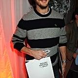 Scruffy chic in 2009.