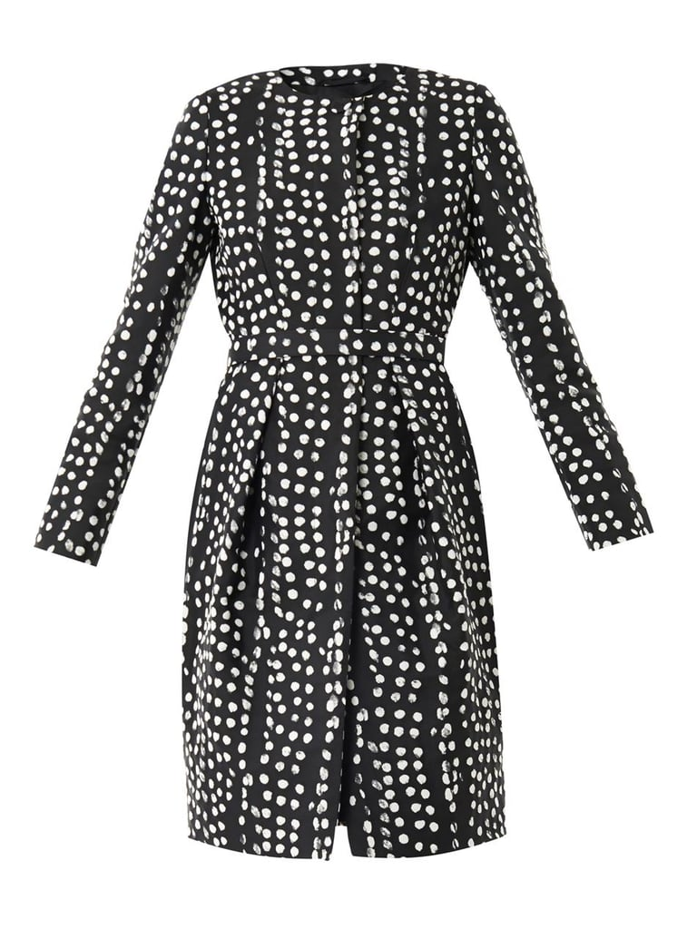 Slim lines and expert tailoring make this Max Mara coat ($723) chic enough for a formal event.