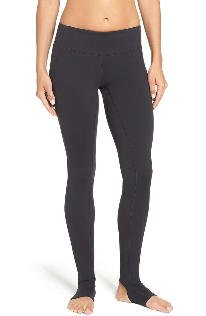 New Balance Foiled Stirrup Tights ($90)