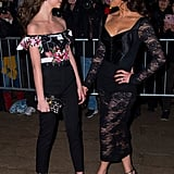 Catherine Zeta-Jones and Her Daughter at a Fashion Show 2018