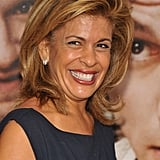 Hoda Kotb couldn't stop smiling at the 50/50 premiere in NYC.