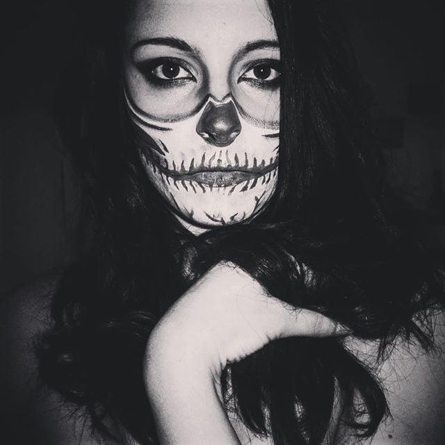 32 skeleton makeup transformations for a halloween beyond the grave popsugar beauty uk - Halloween Skeleton Makeup Ideas