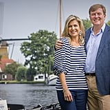 Queen Maxima and Dutch Royal Family Summer Portraits 2017