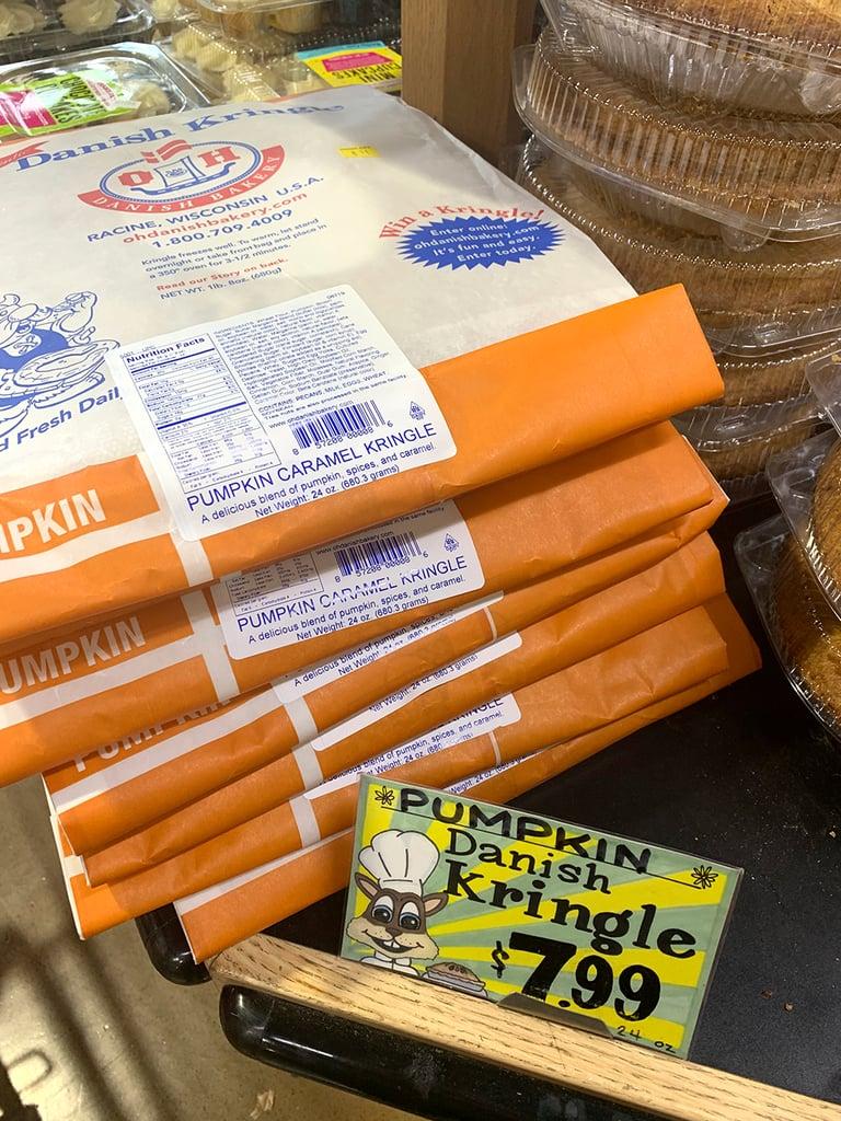 Pumpkin Danish Kringle ($8)
