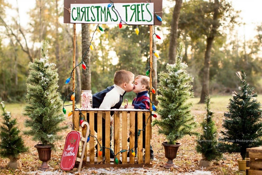 Christmas Tree Stand | Christmas Card Picture Ideas | POPSUGAR ...