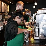 Starbucks is more than halfway to its goal of hiring 10,000 veterans by 2018.