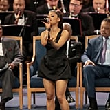 Ariana Grande Performance at Aretha Franklin's Funeral