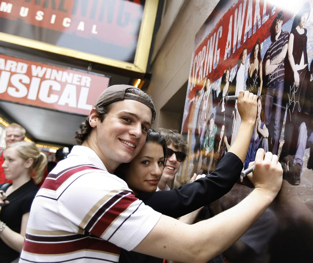 Dynamics 13 By Michelle Gibson: Lea Michele And Jonathan Groff Pictures