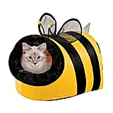 Collections Etc Cute Bumble Bee Pet Bed