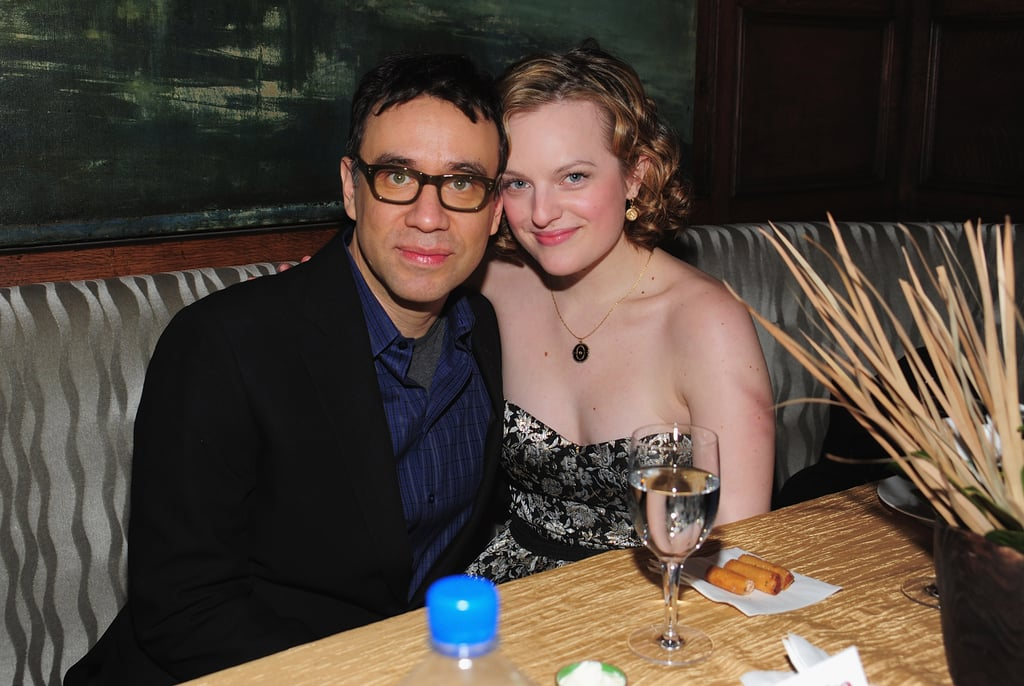 Fred Armisen and Elisabeth Moss — 8 Months
