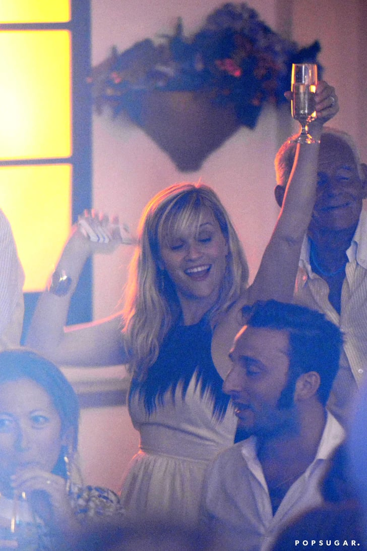 The 4 Stages of Reese Witherspoon's Wild Night Out in Italy