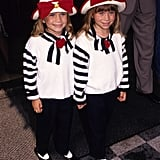 Mary-Kate Olsen and Ashley Olsen were all about stripes in the '90s.