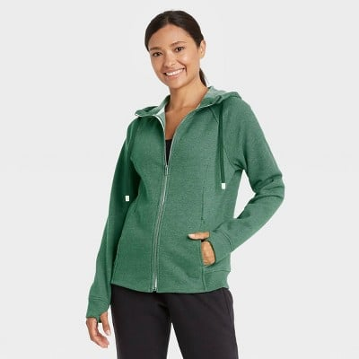 All in Motion Fleece Full Zip Hooded Sweatshirt