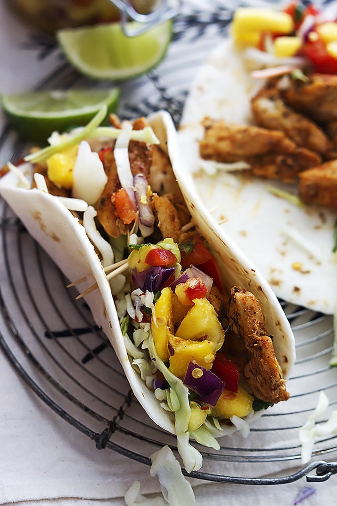 Caribbean chicken tacos easy taco recipes popsugar food photo 37 caribbean chicken tacos forumfinder Images